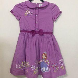 Purple Princess Sofia Dress
